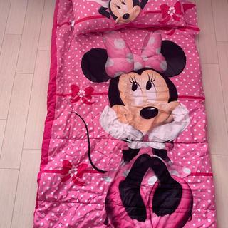 ディズニー(Disney)の中古 ミニー 寝袋 キッズ とってもかわいかったのですがサイズアウトしました。 (寝袋/寝具)