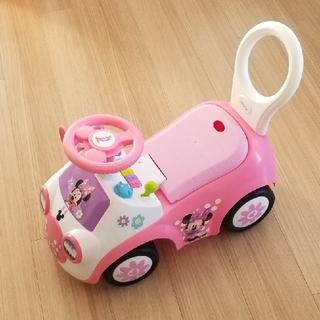 ディズニー(Disney)のミニーマウス 手押し車(手押し車/カタカタ)