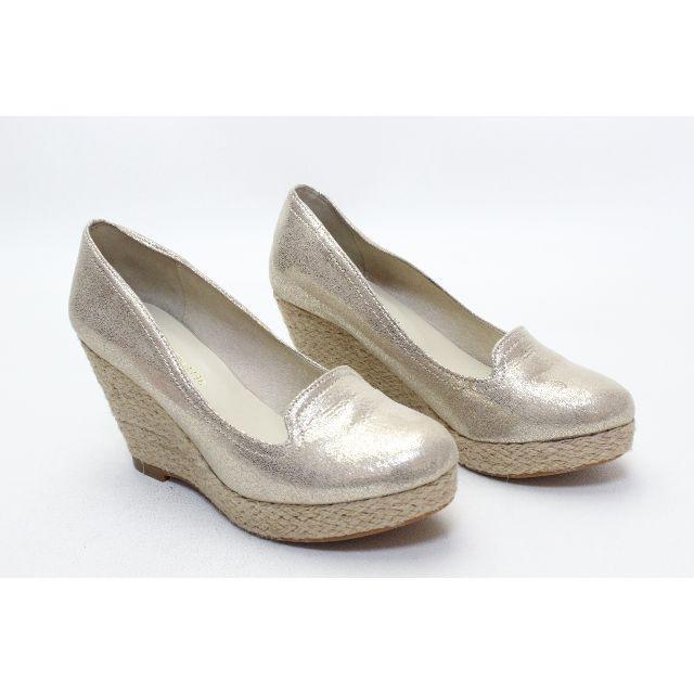ORiental TRaffic(オリエンタルトラフィック)の123■新品♪ORiental TRaffic ジュートウエッジパンプス(34) レディースの靴/シューズ(ハイヒール/パンプス)の商品写真