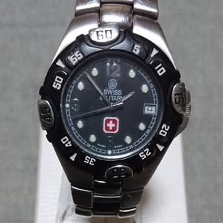 スイスミリタリー(SWISS MILITARY)の電池交換済み スイスミリタリー 腕時計(腕時計(アナログ))