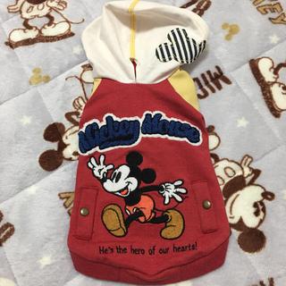 ディズニー(Disney)のゆずぽん様専用♡ミッキーパーカー(ペット服/アクセサリー)