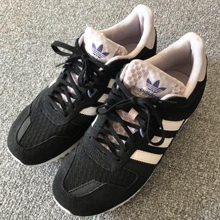 アディダス(adidas)のアディダス スニーカー 25.5  黒(スニーカー)