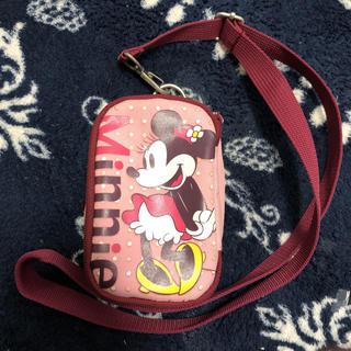 ディズニー(Disney)のカメラケース☆ミニー☆ポーチアイコスケース(ケース/バッグ)