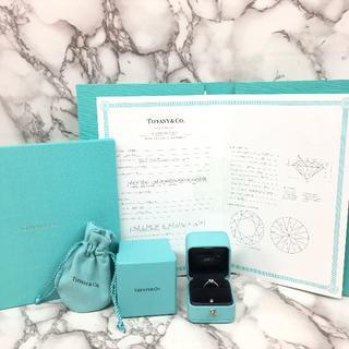 ティファニー(Tiffany & Co.)のティファニー 婚約指輪 PT950 0.52ct (リング(指輪))