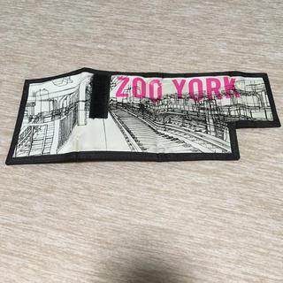 ズーヨーク(ZOO YORK)のZOO YORK wallet 財布 スケーター(折り財布)
