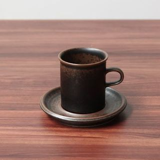 アラビア(ARABIA)のARABIA|Ruska|コーヒーカップ&ソーサー(Sサイズ)|cs-0006(グラス/カップ)