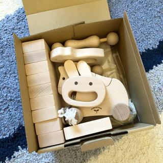 ボーネルンド(BorneLund)の木遊舎 ベビーセット おもちゃ 玩具(積み木/ブロック)