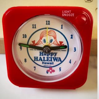ハレイワ(HALEIWA)のハッピーハレイワ❤️目覚まし時計(ハワイ限定)(キャラクターグッズ)