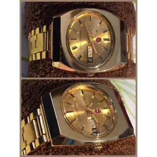 ラドー(RADO)の【ラドー  RADO  TRIDENT 300 自動巻 金張り メンズ】(腕時計(アナログ))