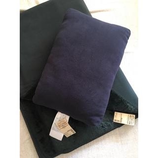 ムジルシリョウヒン(MUJI (無印良品))の無印良品 毛布 クッション セット(毛布)