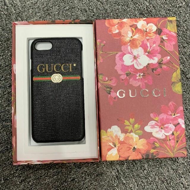 GUCCI iPhone8 カバー 手帳型 | Gucci - GUCCI グッチ IPHONE 7/8 CASE ケースの通販 by 塚田 貴雅 's shop|グッチならラクマ