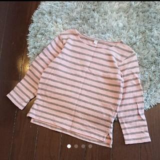 ムジルシリョウヒン(MUJI (無印良品))の無印良品 ボーダーカットソー(Tシャツ/カットソー)