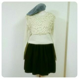 カロリナグレイサー(CAROLINA GLASER)のCAROLINA GLASER wool skirt(ひざ丈スカート)