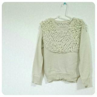 カロリナグレイサー(CAROLINA GLASER)の CAROLINA GLASER loop knit(ニット/セーター)