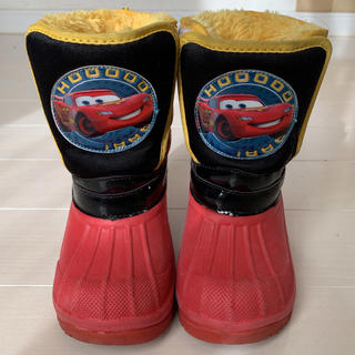 ディズニー(Disney)のカーズ マックイーン スノーブーツ 長靴 18cm ディズニー コストコ(長靴/レインシューズ)