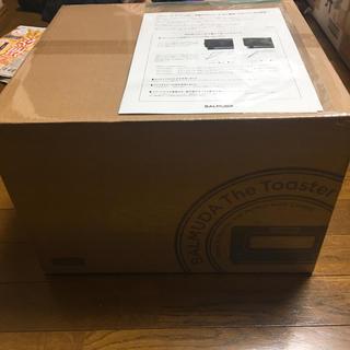 バルミューダ(BALMUDA)の【保証書あり新品・未開封2018年製バルミューダトースターブラックK01E-KG(調理機器)