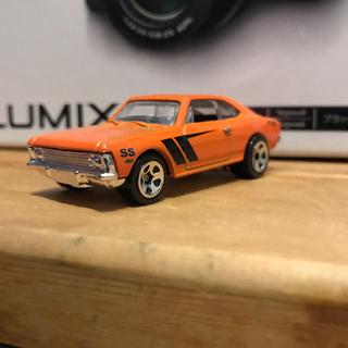 シボレー(Chevrolet)のHW シボレー シェビー ミニカー オレンジ(ミニカー)