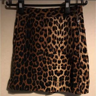 セクシーダイナマイト(SEXY DYNAMITE)のセクダイ レオパード柄 ミニスカート(ミニスカート)