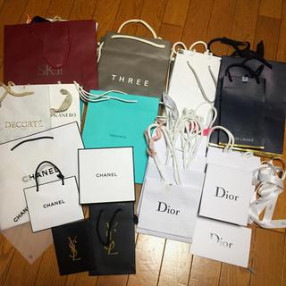 e6408d1d6b7e シャネル(CHANEL)のまとめ売り30枚以上ブランド ショッパー Dior CHANEL TIFFANY(