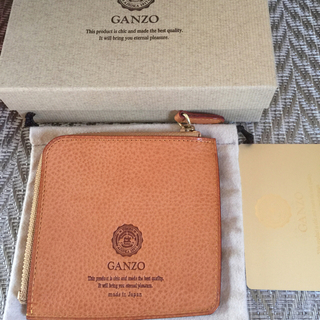 ガンゾ(GANZO)のガンゾ GANZO ミネルバナチュラル  ZIPパース(ナチュラル [40])(コインケース/小銭入れ)
