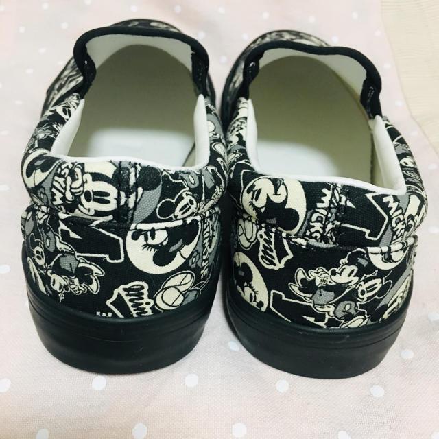 しまむら(シマムラ)のミッキー スリッポン 新品未使用 レディースの靴/シューズ(スニーカー)の商品写真