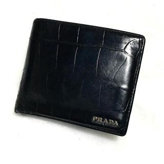 7cfc07e300f5 プラダ ゴールド 折り財布(メンズ)の通販 10点 | PRADAのメンズを買う ...