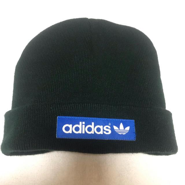 adidas(アディダス)の【未使用】adidas ニット帽 レディースの帽子(ニット帽/ビーニー)の商品写真