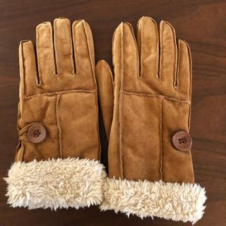 サマンサモスモス(SM2)のSamansa Mos2 ムートン調 手袋(手袋)
