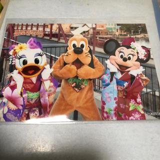 ディズニー スペシャルフォト お正月 ミニデジプル