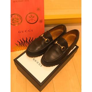 グッチ(Gucci)のGUCCI ビットローファー ショッパー付き《期間限定割引》(ドレス/ビジネス)