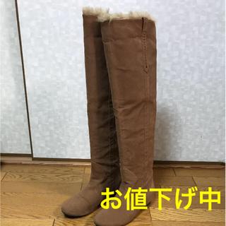 コキュ(COCUE)のニーハイブーツ COCUE 24cm(ブーツ)