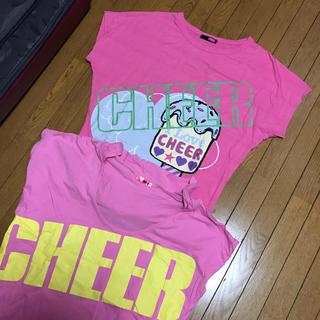 チアー(CHEER)のCHEER Tシャツ2枚セット(Tシャツ(半袖/袖なし))