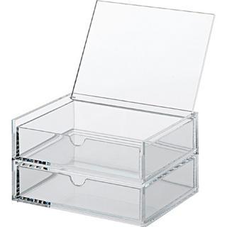 ムジルシリョウヒン(MUJI (無印良品))のアクリル収納ケース(ケース/ボックス)