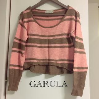 ガルラ(GARULA)の【美品】GARULA♡ショート丈ニットtops(ニット/セーター)
