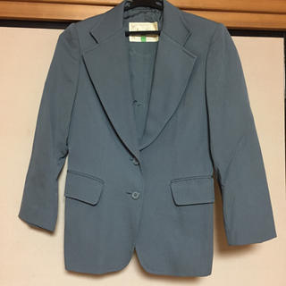 ミッシェルクラン(MICHEL KLEIN)のスーツ  ジャケット  グレー(スーツ)