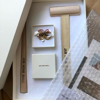 ジャムホームメイドアンドレディメイド(JAM HOME MADE & ready made)のJAM HOME MADE 名もなき指輪 真鍮 新品未使用(リング(指輪))