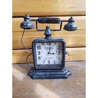 フランフラン(Francfranc)のぴーなつ様専用 電話型 置時計(置時計)