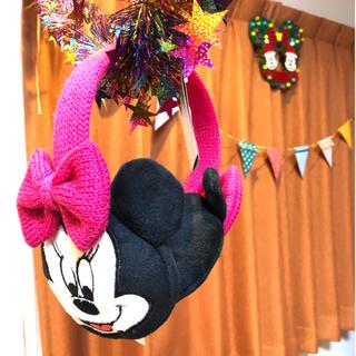 ディズニー(Disney)のディズニー ミニーちゃん 耳あて(イヤーマフ)