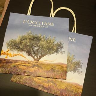 ロクシタン(L'OCCITANE)のロクシタン ショップ袋 紙袋 LOCCITANE 新品 未使用 ショッパー 袋(ショップ袋)