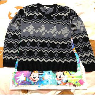 ディズニー(Disney)の【送料込・未使用新品】SALE ミッキー ニットセーター(ニット/セーター)