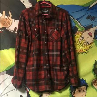 デビルユース(Deviluse)のデビルユース チェックシャツ(Tシャツ(長袖/七分))