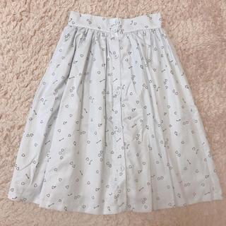 メリージェニー(merry jenny)のmerry jenny ♡ キューピッドミディスカート(ひざ丈スカート)