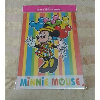 Disney - TDR ミニーマウスクリアファイル