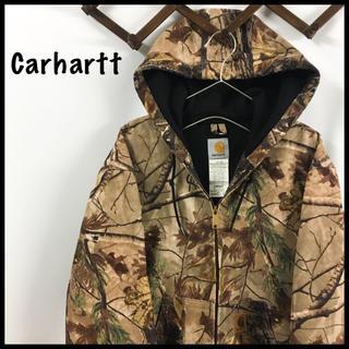 カーハート(carhartt)の新年特価 Carhartt アクティブジャケット ダックパーカー 迷彩 総柄(ミリタリージャケット)
