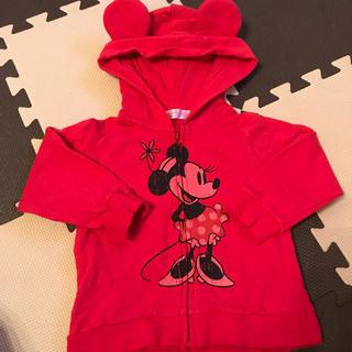 ディズニー(Disney)のミニーパーカー80(ジャケット/コート)