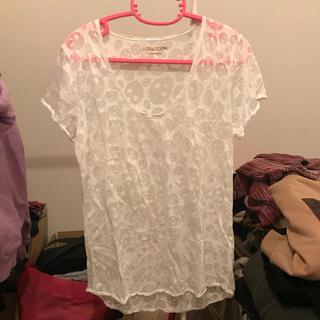 ザディグエヴォルテール(Zadig&Voltaire)のドクロ柄Tシャツ(Tシャツ(半袖/袖なし))
