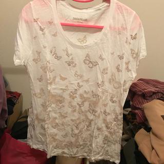 ザディグエヴォルテール(Zadig&Voltaire)の蝶柄Tシャツ(Tシャツ(半袖/袖なし))