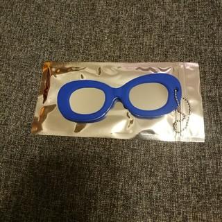 ゾフ(Zoff)の眼鏡型チャーム ミラー (キーホルダー)