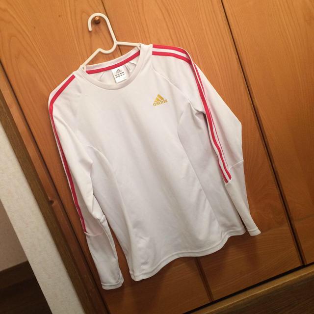 adidas(アディダス)のadidas climaliteTシャツ レディースのトップス(Tシャツ(長袖/七分))の商品写真