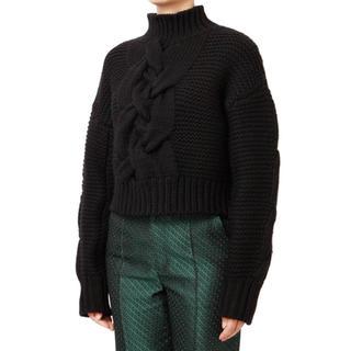 ルシェルブルー(LE CIEL BLEU)のルシェルブルー  ニット セーター 黒(ニット/セーター)